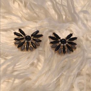 Fan Stud Earrings